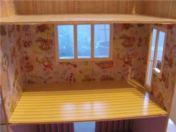 Домик для кукол из обрезков ламината