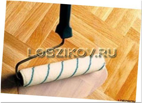 Паркетные покрытия, уложенные на холодный клей