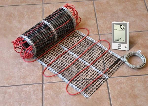 Электрический кабельный мат