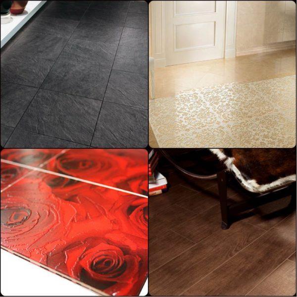 Варианты декорирования керамической плитки