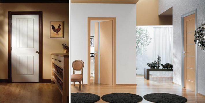 Двери под цвет пола