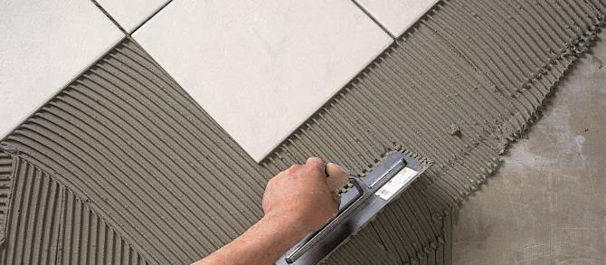 Самостоятельная укладка керамической плитки