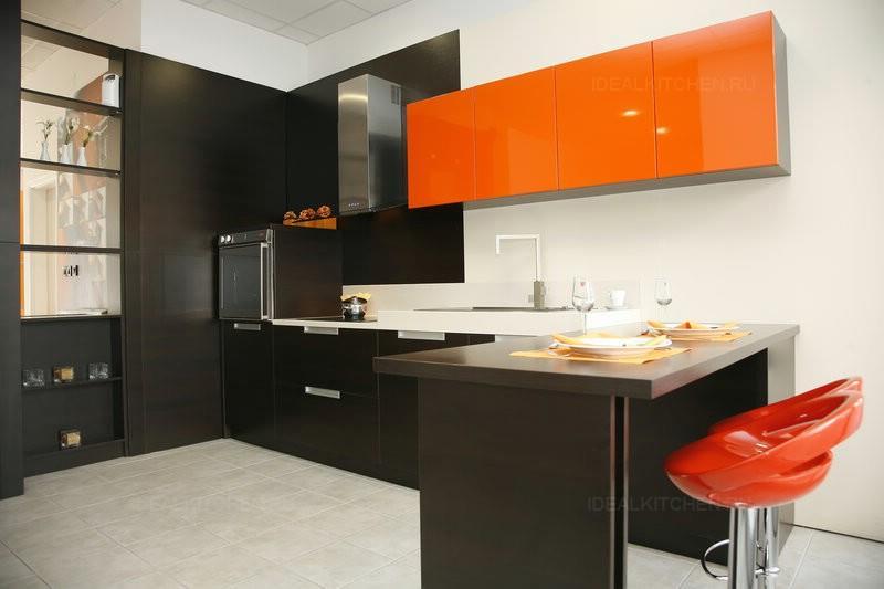 Кухни венге - 48 фото