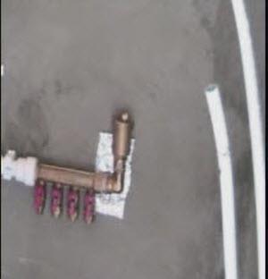 крепление металлопластиковой трубы к коллектору
