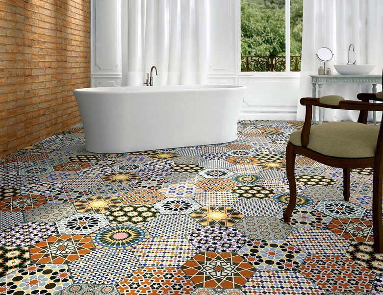 Виды напольных покрытий ковровая плитка-2