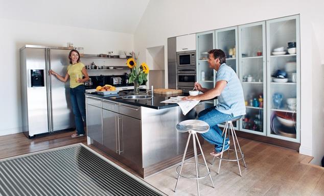 Теплый пол на кухне, рис. 2