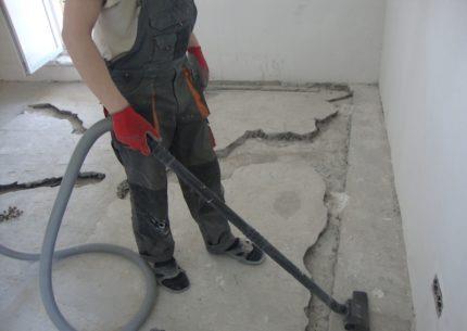Подготовка основания под водяной теплый пол