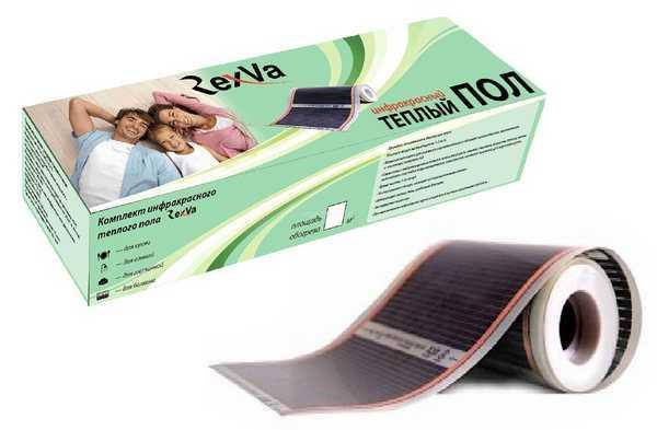 Инфракрасный теплый пол RexVa имеет неплохие отзывы
