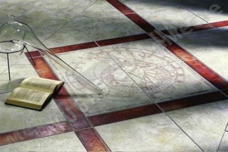 Напольная плитка как напольное покрытие: красиво и прочно
