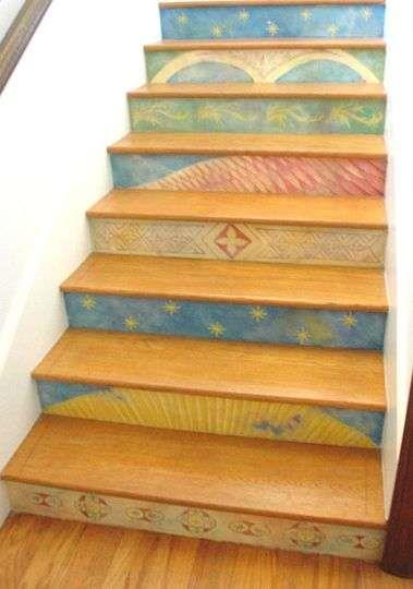 Варианты напольного покрытия для ступеней лестницы