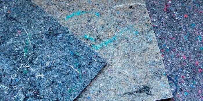 Подложка смесовая из химических, джутовых и льняных волокон