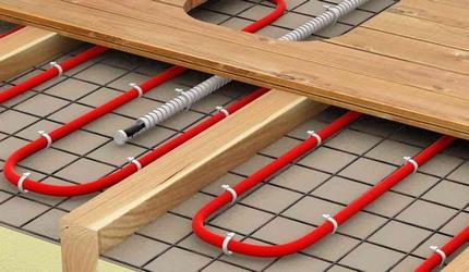 Полости для укладки электропровода