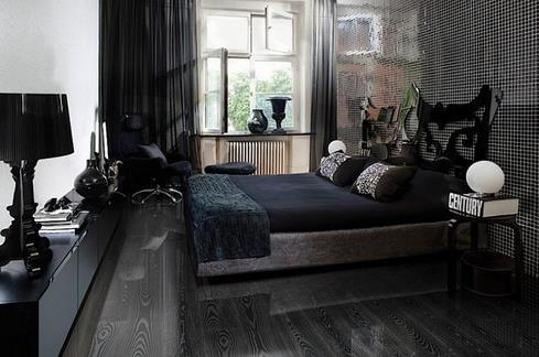 Ламинат эбеновое дерево в интерьере в стиле минимализм