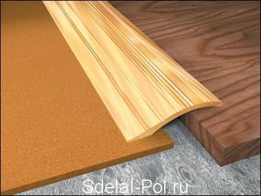 Сглаживание перепада покрытий до 10-15 мм