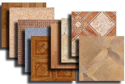Имитация дерева и геометрический орнамент - самые распространенные виды дизайна линолеума