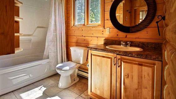 Полы в ванной комнате деревянного дома