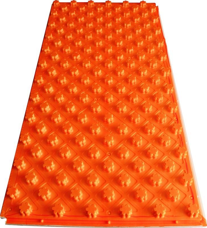 Теплоизоляционные плиты с ламинацией (подложки) для устройства тёплого водяного пола