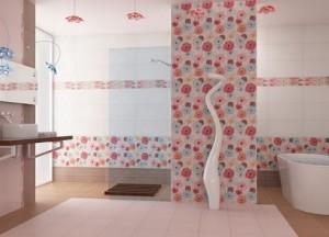Плитка ПВХ для стен в ванной комнате
