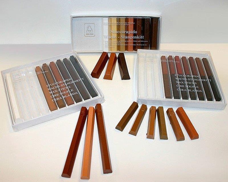 Специальные восковые карандаши для ламината
