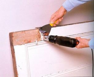 Очистка деревянного покрытия от краски