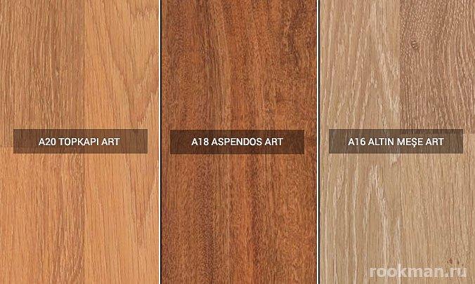 Коричневый ламинат Art Floor