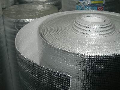 Подложка под теплый пол фольгированная