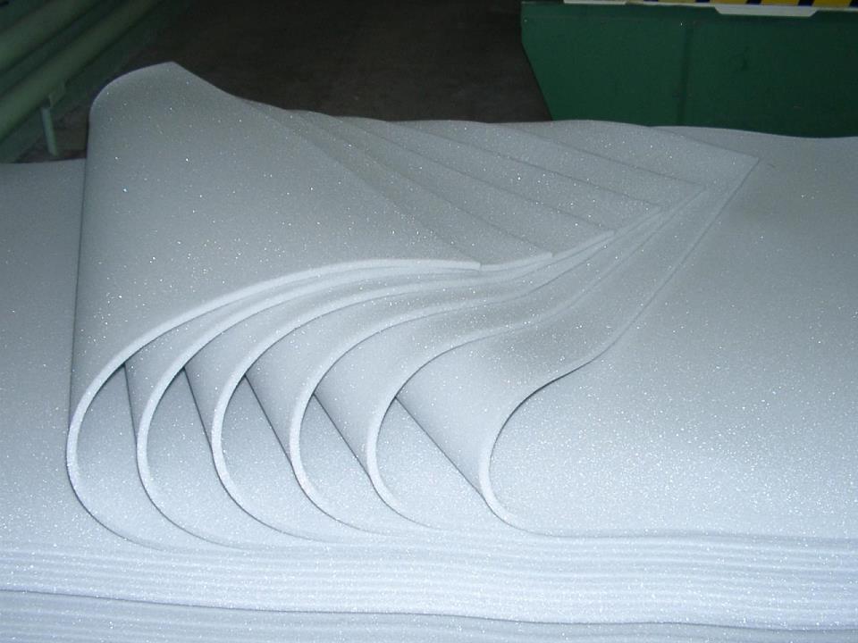Пенополиуретановая подложка под теплый пол