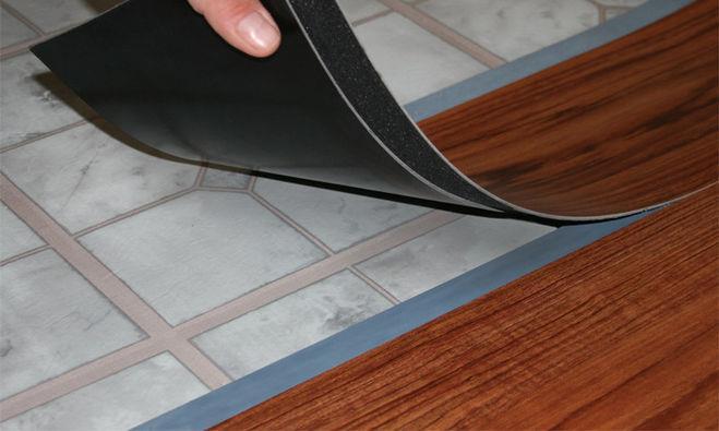 Подложка под виниловый ламинат