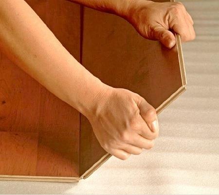 Укладка квадратного ламината 60х60 своими руками