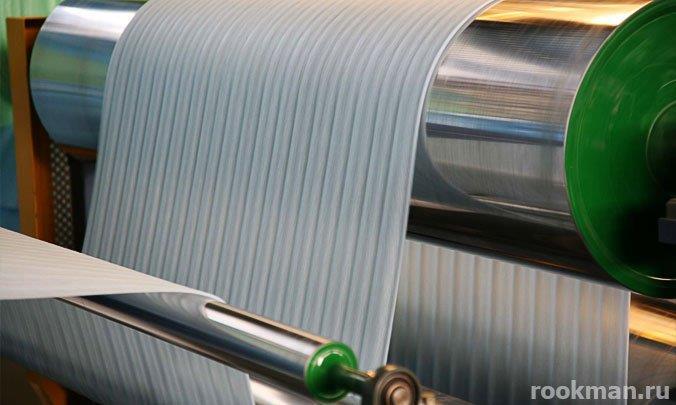 Производство подложки под ламинат из пенополистирола