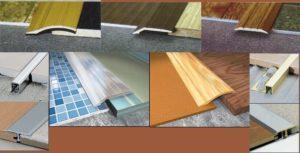 Как сделать порожек между плиткой и ламинатом