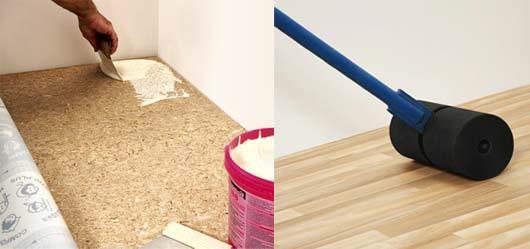 как клеить линолеум на деревянный пол на кухне - грамотный ответ