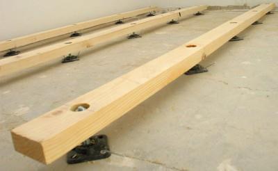 Как стелить деревянный пол на пол