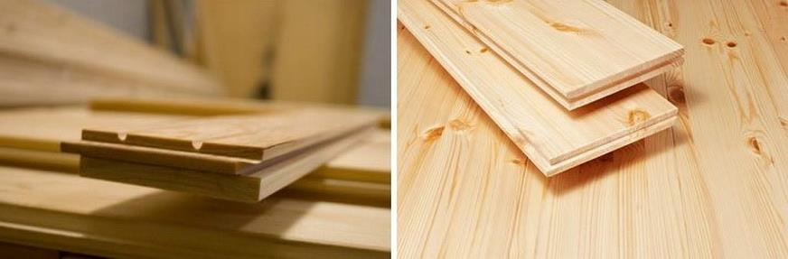 Типы досок для деревянного пола