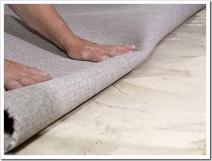 Как укладывать ковролин своими руками?