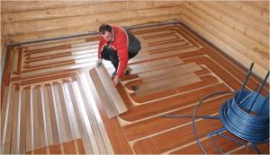 теплый пол под ламинат на деревянном полу