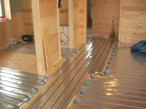 теплый пол на деревянном полу
