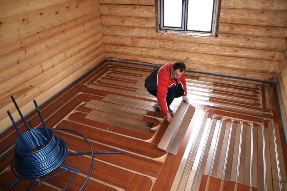Фото 3 Деревянное основание для теплого пола