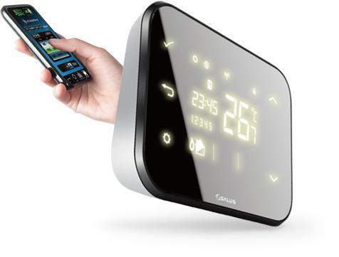 Термостат в умном доме и телефон