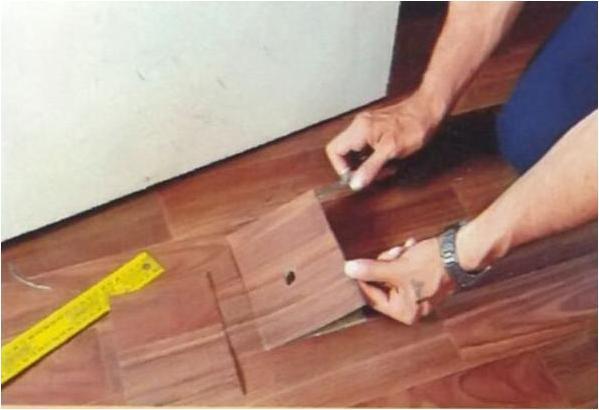 ТТК. Ремонт повреждений линолеума