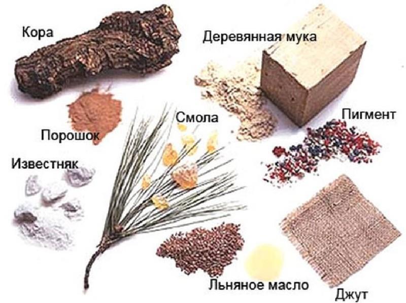 состав натурального линолеума