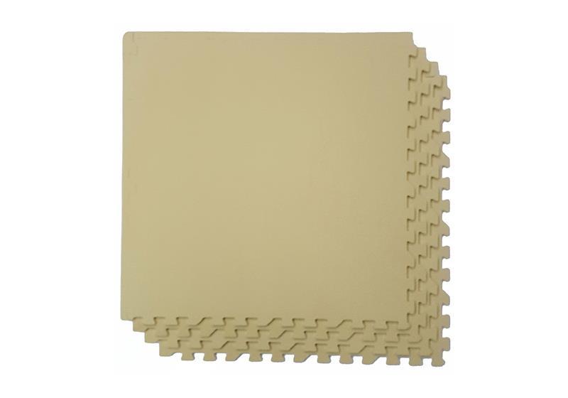 Мягкий пол 60x60 см (бежевый)