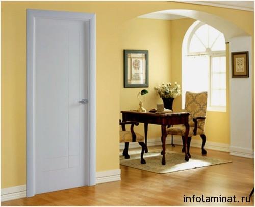 правильное сочетание ламината и дверей