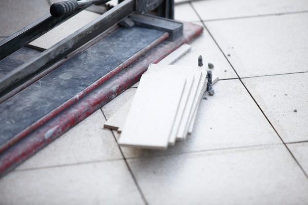 Пол из керамической плитки или керамогранита