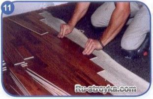 Как уложить напольное покрытие на потрескавшуюся бетонную стяжку?