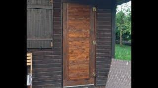 Деревянная дверь своими руками - просто, дешево, красиво