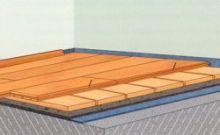 Технология укладки паркетной доски на деревянный пол