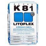 Клей для плитки Litokol Litoflex K81, 25 кг в Леруа Мерлен