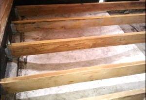 Как сделать лаги и опоры для деревянного пола?