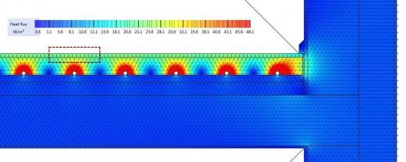 Тепловой поток водяного теплого пола